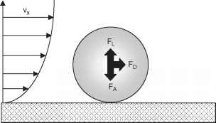 Forces Acting Particle